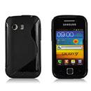 Coque Samsung S5360 Galaxy Y S-Line Silicone Gel Housse - Noire
