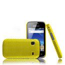 Coque Samsung S5660 Galaxy Gio Filet Plastique Etui Rigide - Jaune