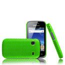 Coque Samsung S5660 Galaxy Gio Filet Plastique Etui Rigide - Verte