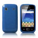 Coque Samsung S5660 Galaxy Gio Silicone Gel Housse - Bleu