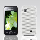 Coque Samsung S5750 Wave 575 Filet Plastique Etui Rigide - Blanche