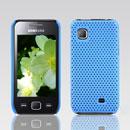 Coque Samsung S5750 Wave 575 Filet Plastique Etui Rigide - Bleue Ciel