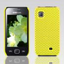 Coque Samsung S5750 Wave 575 Filet Plastique Etui Rigide - Jaune