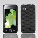 Coque Samsung S5750 Wave 575 Filet Plastique Etui Rigide - Noire