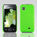 Coque Samsung S5750 Wave 575 Filet Plastique Etui Rigide - Verte