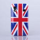 Coque Samsung S5830 Galaxy Ace Le drapeau du Royaume-Uni Etui Rigide - Mixtes