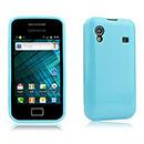 Coque Samsung S5830 Galaxy Ace Silicone Gel Housse - Bleue Ciel