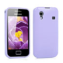 Coque Samsung S5830 Galaxy Ace Silicone Gel Housse - Pourpre