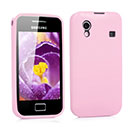 Coque Samsung S5830 Galaxy Ace Silicone Gel Housse - Rose