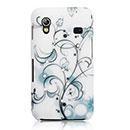 Coque Samsung S5839i Galaxy Ace Fleurs Bling Etui Rigide - Mixtes