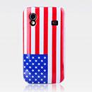 Coque Samsung S5839i Galaxy Ace Le drapeau des Etats-Unis Etui Rigide - Mixtes