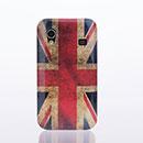 Coque Samsung S5839i Galaxy Ace Le drapeau du Royaume-Uni Etui Rigide - Gris