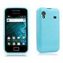 Coque Samsung S5839i Galaxy Ace Silicone Gel Housse - Bleue Ciel