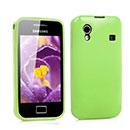 Coque Samsung S5839i Galaxy Ace Silicone Gel Housse - Verte