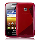 Coque Samsung S6102 Galaxy Y Duos S-Line Silicone Gel Housse - Rouge