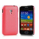Coque Samsung S7500 Galaxy Ace Plus Filet Plastique Etui Rigide - Rose