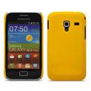 Coque Samsung S7500 Galaxy Ace Plus Plastique Etui Rigide - Jaune
