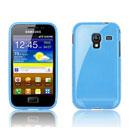 Coque Samsung S7500 Galaxy Ace Plus TPU Gel Housse - Bleu