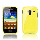Coque Samsung S7500 Galaxy Ace Plus TPU Gel Housse - Jaune