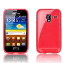 Coque Samsung S7500 Galaxy Ace Plus TPU Gel Housse - Rouge
