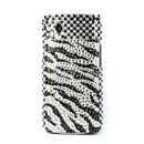 Coque Samsung S8530 Wave 2 Diamant Bling Etui Rigide - Noire