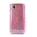 Coque Samsung S8530 Wave 2 Diamant Bling Etui Rigide - Rose