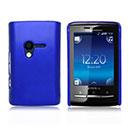 Coque Sony Ericsson Mini X10 Plastique Etui Rigide - Bleu