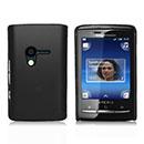 Coque Sony Ericsson Mini X10 Plastique Etui Rigide - Noire