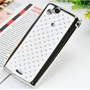 Coque Sony Ericsson Xperia Arc S LT18i Diamant Bling Etui Rigide - Blanche