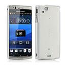 Coque Sony Ericsson Xperia Arc S LT18i Ultrathin Plastique Etui Rigide - Blanche