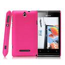 Coque Sony Ericsson Xperia E Dual Plastique Etui Rigide - Rose Chaud