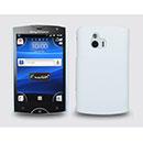 Coque Sony Ericsson Xperia Mini ST15i Plastique Etui Rigide - Blanche