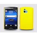 Coque Sony Ericsson Xperia Mini ST15i Plastique Etui Rigide - Jaune