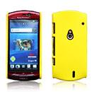 Coque Sony Ericsson Xperia Neo MT15i MT11i Plastique Etui Rigide - Jaune