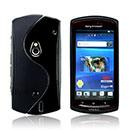 Coque Sony Ericsson Xperia Neo MT15i MT11i S-Line Silicone Gel Housse - Noire