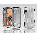 Coque Sony Ericsson Xperia Play Z1i Filet Plastique Etui Rigide - Blanche