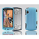 Coque Sony Ericsson Xperia Play Z1i Filet Plastique Etui Rigide - Bleue Ciel