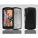 Coque Sony Ericsson Xperia Play Z1i Filet Plastique Etui Rigide - Noire