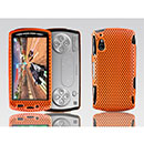 Coque Sony Ericsson Xperia Play Z1i Filet Plastique Etui Rigide - Orange