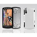 Coque Sony Ericsson Xperia Play Z1i Plastique Etui Rigide - Blanche