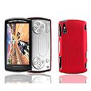 Coque Sony Ericsson Xperia Play Z1i Plastique Etui Rigide - Rouge