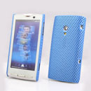 Coque Sony Ericsson Xperia X10 X10i Filet Plastique Etui Rigide - Bleue Ciel