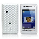 Coque Sony Ericsson Xperia X8 E15i Diamant TPU Gel Housse - Claire