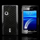 Coque Sony Ericsson Xperia X8 E15i Diamant TPU Gel Housse - Gris