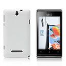 Coque Sony Xperia E Dual Plastique Etui Rigide - Blanche