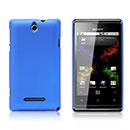 Coque Sony Xperia E Dual Plastique Etui Rigide - Bleu