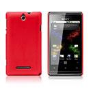 Coque Sony Xperia E Dual Plastique Etui Rigide - Rouge