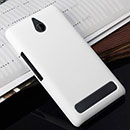 Coque Sony Xperia E1 Plastique Etui Rigide - Blanche
