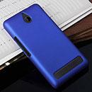 Coque Sony Xperia E1 Plastique Etui Rigide - Bleu