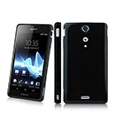 Coque Sony Xperia GX LT29i Silicone Gel Housse - Noire